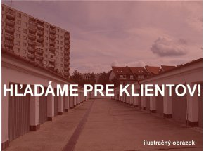 Garáž, Bratislava-Dúbravka, kúpa garáže okolo ulice Lipského